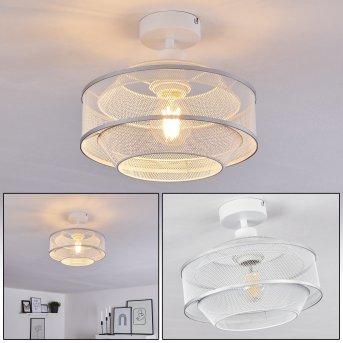 LIMASSOL Ceiling Light chrome, white, 1-light source
