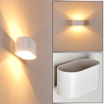 Wall Light Dapp white, 1-light source