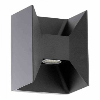 Eglo MORINO outdoor wall light LED anthracite, 2-light sources
