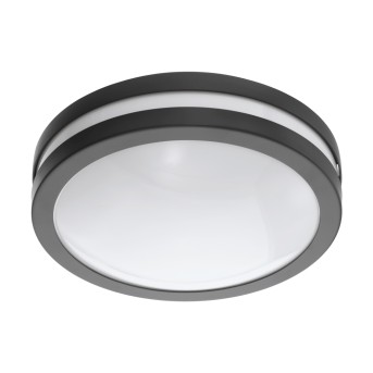 Eglo Connect LOCANA Ceiling light LED anthracite, 1-light source