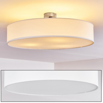Foggia Ceiling Light matt nickel, 3-light sources