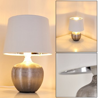 Stampa Table Lamp silver, 1-light source
