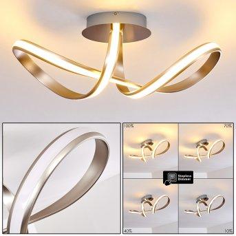 Woyens Ceiling Light LED stainless steel, 1-light source