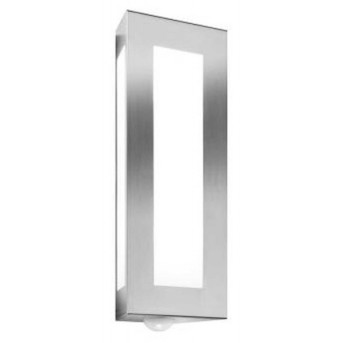 CMD AQUA LIGHT Wall Light stainless steel, 2-light sources, Motion sensor