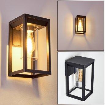 Baoshan Outdoor Wall Light black, 1-light source