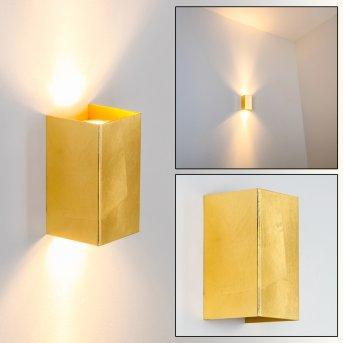MATERA wall light gold, 2-light sources