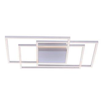 Ceiling Light Paul Neuhaus INIGO LED stainless steel, 3-light sources
