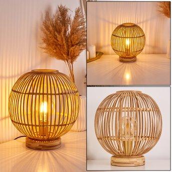 GEUBUS Table lamp light brown, 1-light source