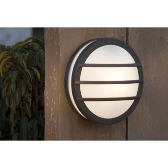 Lutec SEINE outdoor wall light anthracite, 1-light source