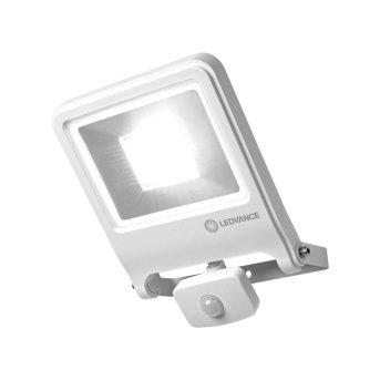 LEDVANCE POLYBAR Outdoor Wall Light white, 1-light source, Motion sensor