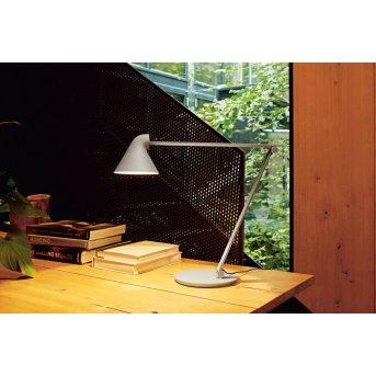 Louis Poulsen NJP Table Lamp LED grey, 1-light source