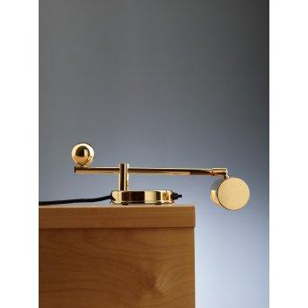 Tecnolumen DS 28 Table lamp brass, 1-light source