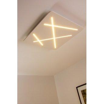 Linea Light ceiling light LED white, 1-light source