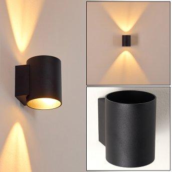 Wall Light Letsbo black, 1-light source
