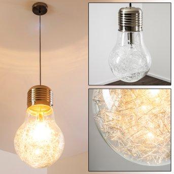 Hova Pendant Light matt nickel, 1-light source