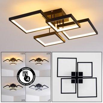 Bacolod Ceiling Light LED black, 1-light source
