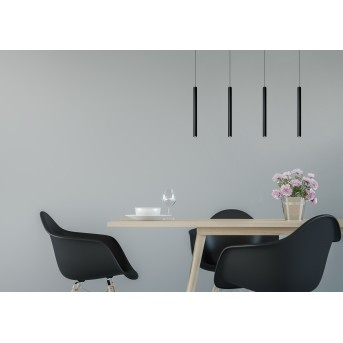Pendant Light Lucide LORENZ LED black, 4-light sources