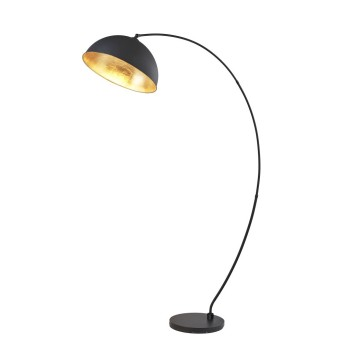Floor Lamp Globo STIRADO black, 1-light source