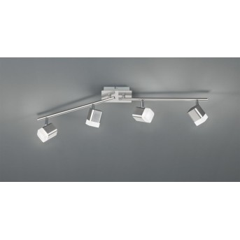 Reality ROUBAIX spotlight LED matt nickel, 4-light sources