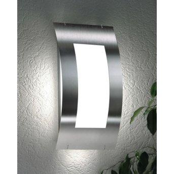 CMD AQUA QUADRAT Wall Light stainless steel, 1-light source