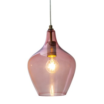 Nino Leuchten PASO Pendant Light pink, 1-light source