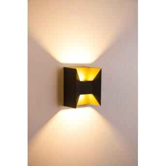 Rivas exterior wall luminaire LED anthracite, 2-light sources