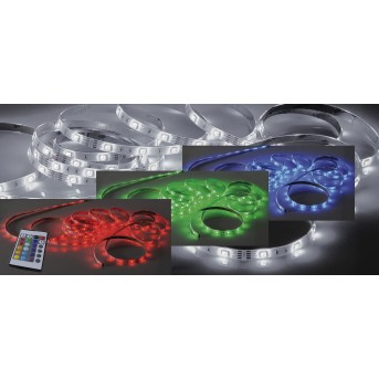 Paul Neuhaus TEANIA light strips LED colourful, 1-light source, Remote control, Colour changer
