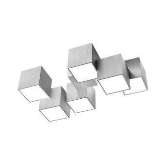 Grossmann ROCKS Ceiling light LED aluminium, 6-light sources