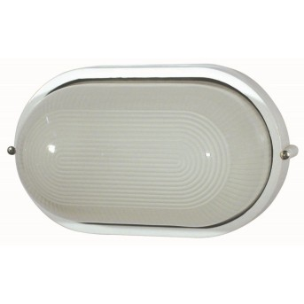 Faro Derby outdoor wall light white, 1-light source