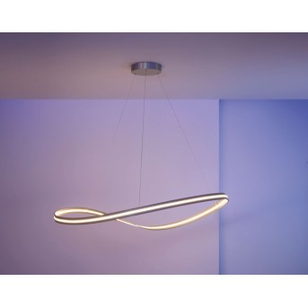 Escale INFINITY pendant light LED matt nickel, 1-light source