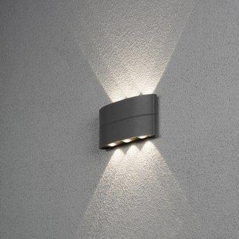 Konstsmide CHIERI Outdoor Wall Light LED black, 6-light sources