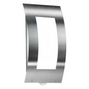 CMD AQUA QUADRAT Wall Light stainless steel, 1-light source, Motion sensor