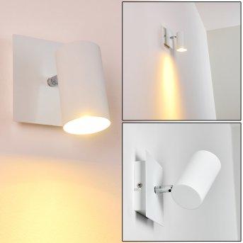 ZUOZ wall spotlight white, 1-light source