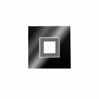 Grossmann KARREE Wall and Ceiling Light LED black, titanium , 1-light source