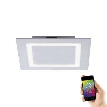 Paul Neuhaus Q-MIRAN Ceiling light LED aluminium, 1-light source, Remote control, Colour changer
