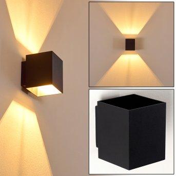 Wall Light Laforsen black, 1-light source