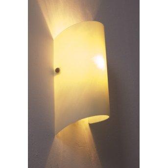 Honsel Drive wall light matt nickel, white, 1-light source