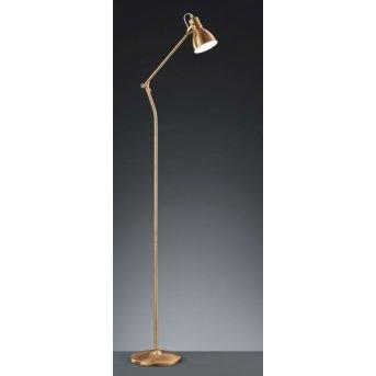 Trio 3005 floor lamp brass, 1-light source