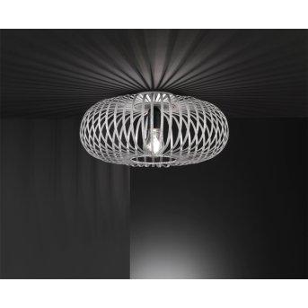 Trio-Leuchten Johann Ceiling Light grey, 1-light source