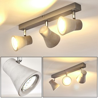 Osco Ceiling Light LED grey, 3-light sources