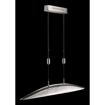 Fischer SHINE pendant light LED matt nickel, 6-light sources