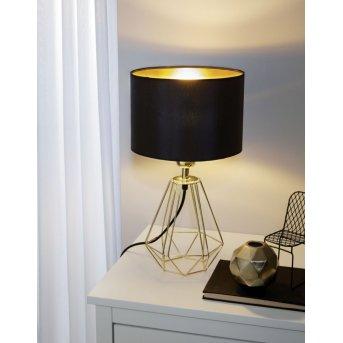 Eglo CARLTON 2 table lamp brass, 1-light source
