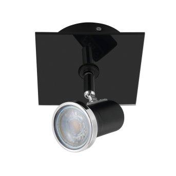 Eglo TAMARA 1 spot LED chrome, black, 1-light source