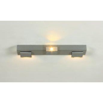 Bopp Elle spotlight beam LED aluminium, 3-light sources