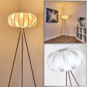 ZOBUS Floor Lamp matt nickel, 1-light source