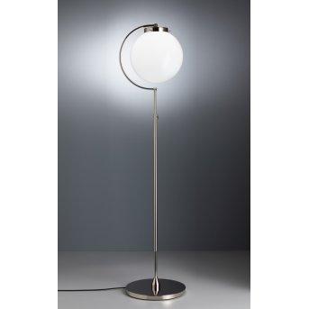 Tecnolumen DSL 23 Floor lamp polished nickel, 1-light source