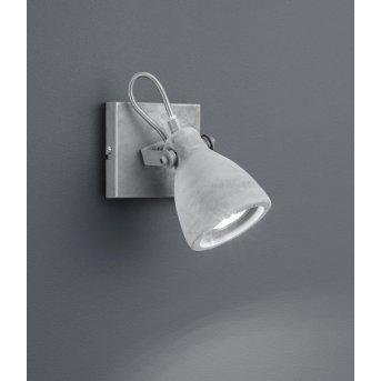 Trio CONCRETE spotlight LED grey, 1-light source