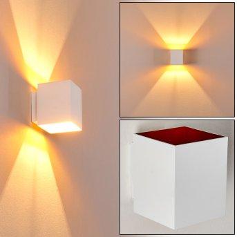 Wall Light Laforsen white, gold, 1-light source