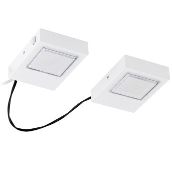 Eglo LAVAIO recessed kitchen light LED white, 2-light sources