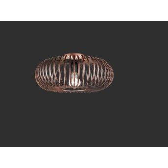 Trio-Leuchten Johann Ceiling Light copper, 1-light source